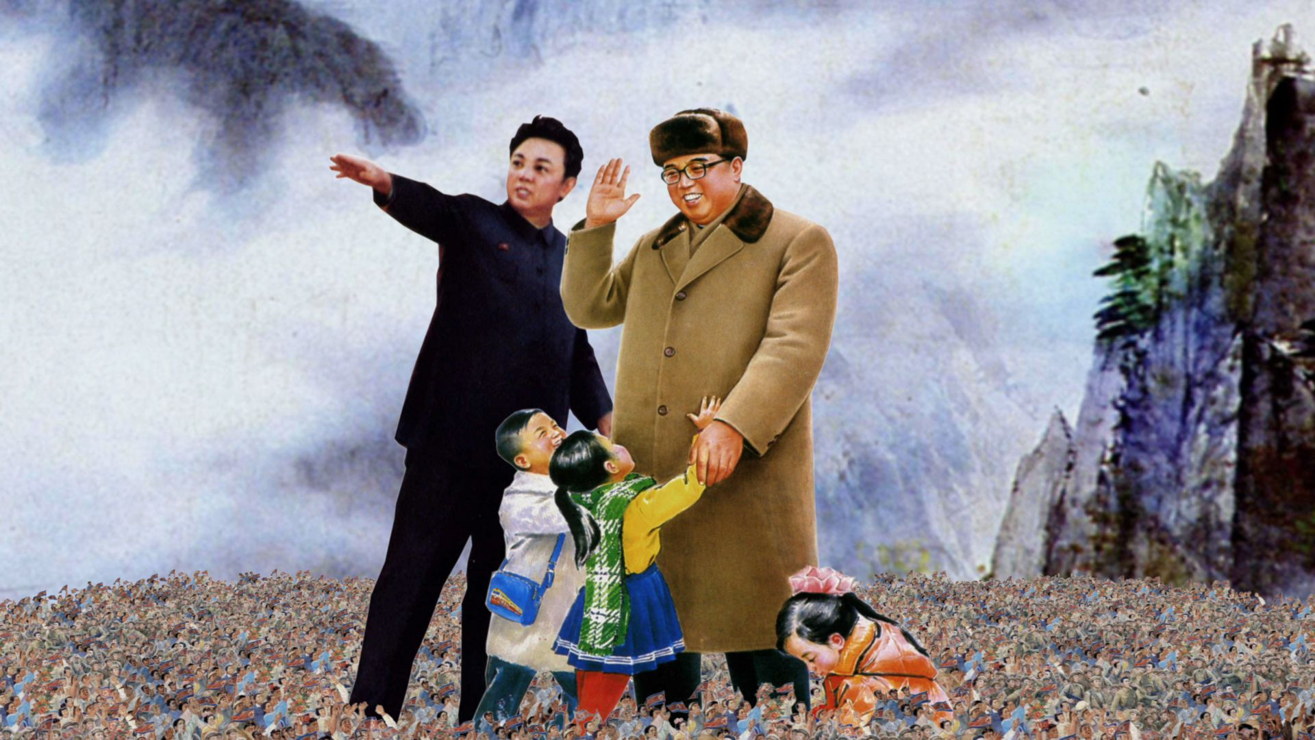 Poster Kim Il Sung dan Kim Jong Il | Canoe.com