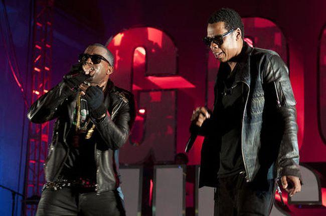 Kanye West/Jay-Z (AFP)