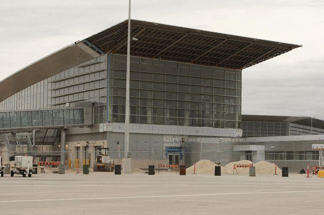 New Winnipeg airport terminal