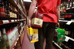 Booze file photo. (Mike Drew/QMI AGENCY FILES)