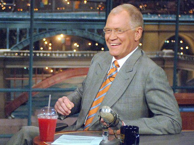 David Letterman (Handout)