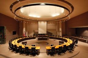 Council chambers at Ottawa City Hall. QMI Agency file photo