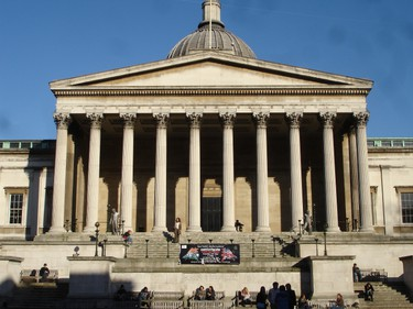 Rank: 20. Institution: University College London, London, England. Notable alumni: Mahatma Gandhi and Ricky Gervais. (LordHarris/Wikipedia.org)