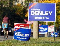Randall Denley campaign signs