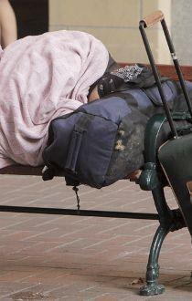 Homeless in Alberta