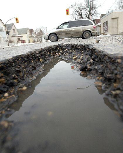 Worst roads filer