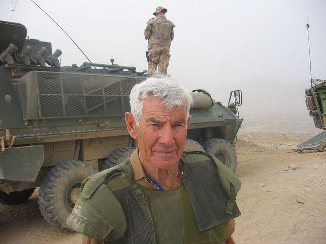 Peter Worthington in Afghanistan  7 ways
