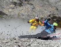 Rock skiing