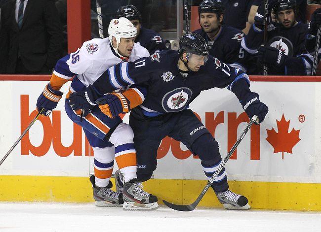 Eric Fehr —Jets Islanders