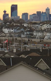 Calgary property tax houses