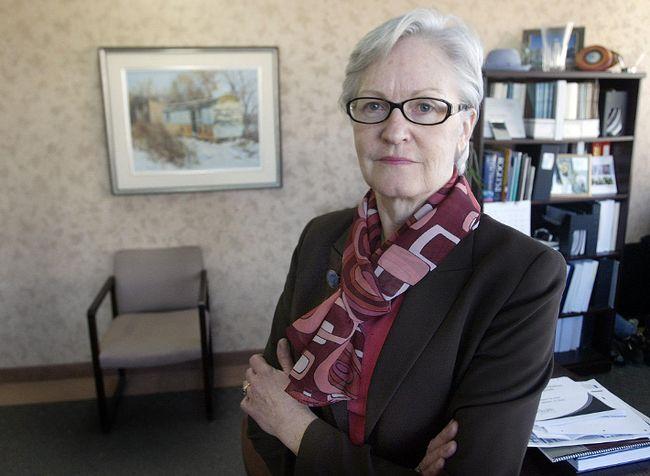 Former Manitoba ombudsman Irene Hamilton.