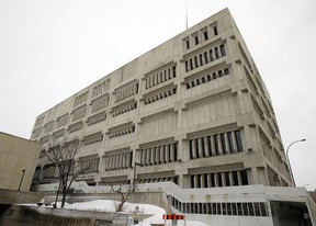 The Public Safety Building in Winnipeg's Exchange District. (Brian Donogh, Winnipeg Sun files)