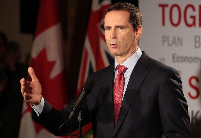 Ontario Premier Dalton McGuinty. (QMI Agency files)