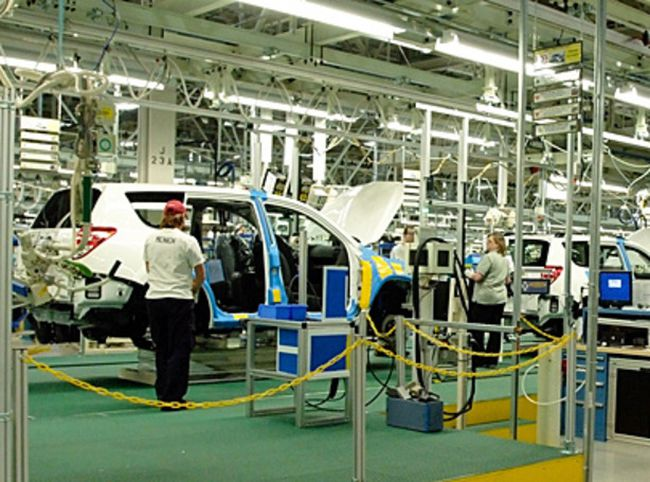 Toyota plant (file photo)
