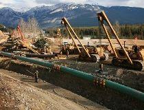 Trans Mountain crude oil pipeline