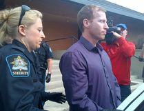 Accused killer Travis Vader, 40, at Edson court May 15, 2012. (PAMELA ROTH/EDMONTON SUN)