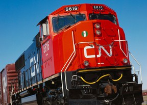 CN Rail locomotive