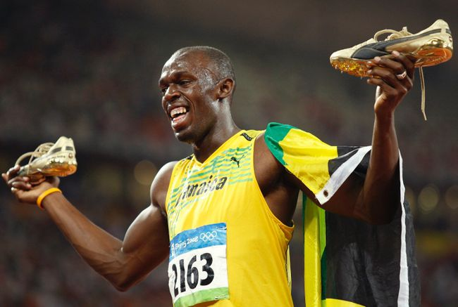Usain Bolt. REUTERS/Gary Hershorn