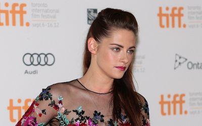 Kristen Stewart on the red carpet before