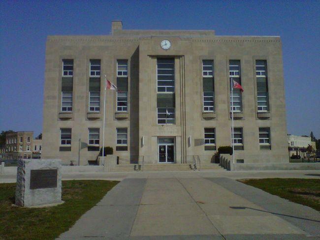 Goderich court house