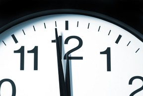 In 5 Minutes clock
