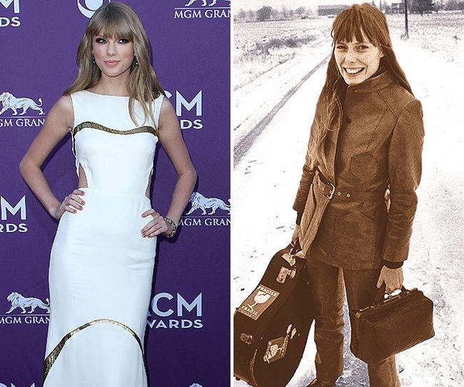 "Taylor Swift/oni Mitchell (circa 1969). (<a href=""http://WENN.COM"" target=""_blank"">WENN.COM<br /></a>/QMI File)"