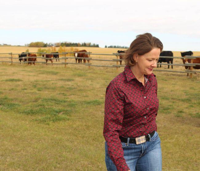 Alberta premiere Alison Redford