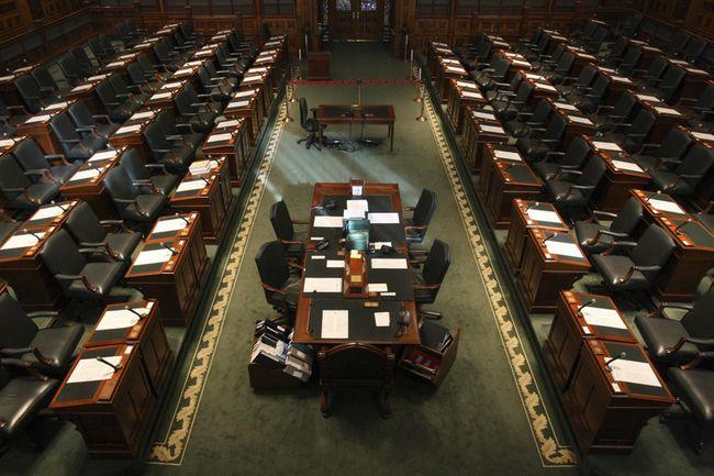 The legislature at Queen's Park. (File photo)