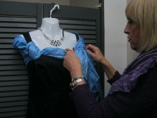 too revealing dress