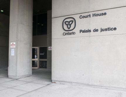 London court house (CRAIG GLOVER, The London Free Press)