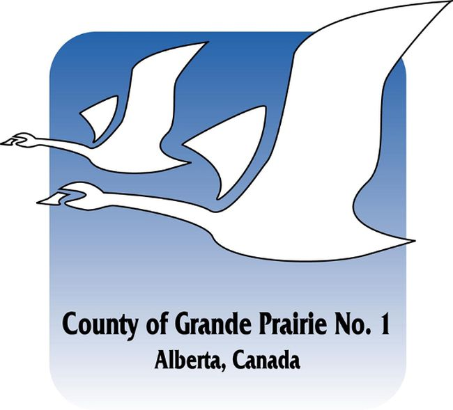 County of Grande Prairie logo