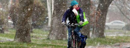 Winter snow in Ottawa
