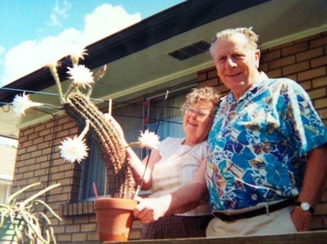 Magda and Ed Amler.
