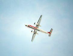 An Air Canada Jazz plane flies overhead. (Randy Vanderveen/Postmedia file photo)
