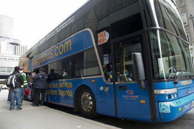 Coach Canada's Megabus (QMI photo)