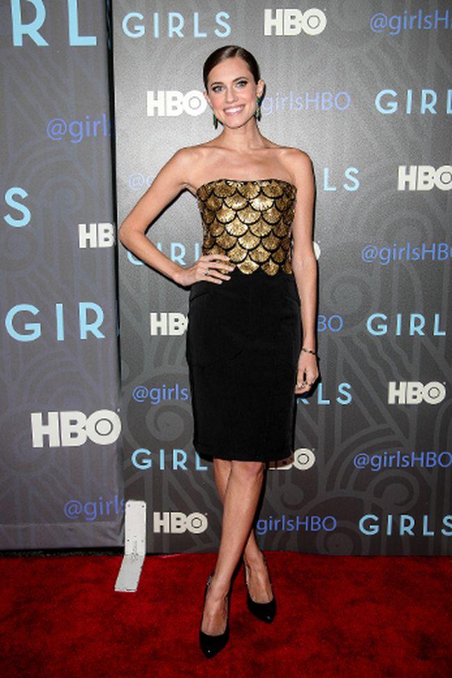 Allison Williams plays Marnie on HBO's 'Girls'. (Kyle Blair/WENN.com)