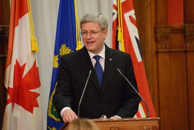 Prime Minister Stephen Harper.  REUTERS/Jon Blacker