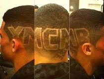 Evander Kane haircut