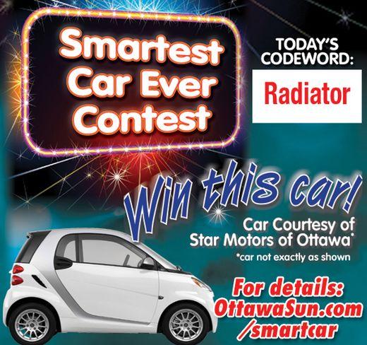 January 26 Smart Car Codeword