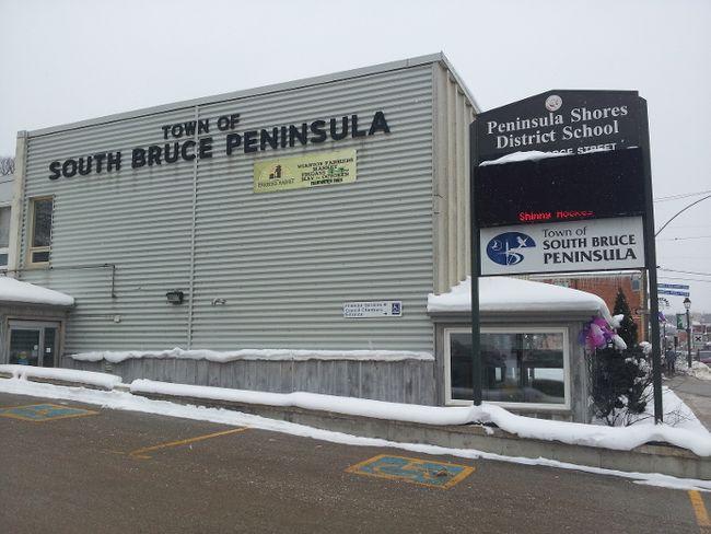 South Bruce Peninsula town hall