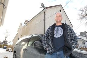 North End resident Scott Ballentyne on Friday, Feb. 9, 2013. (Kevin King/Winnipeg Sun files)