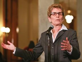 Ontario Premier Kathleen Wynne. File photo
