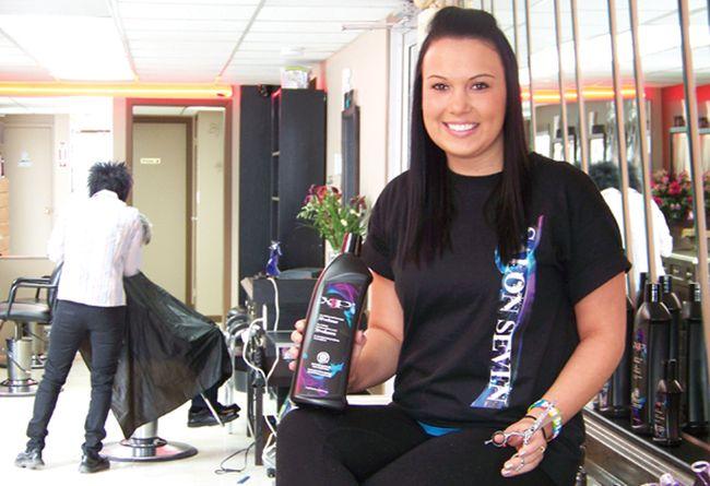 Entrepreneur launches salon seven cornwall standard for 7th street salon
