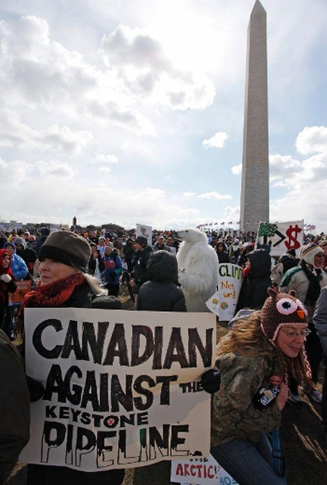 Keystone protest Washington