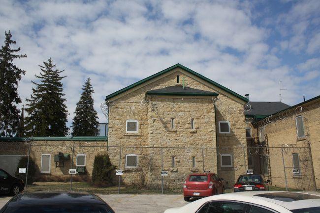 The jail in Walkerton.