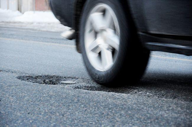 Potholes. Postmedia file photo