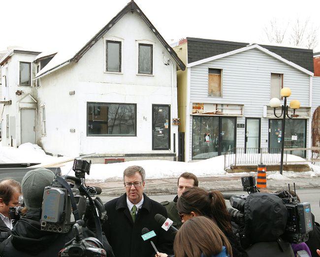 Derelict Building, Beechwood Ave., Ottawa