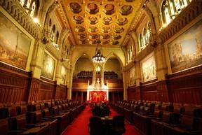 Postmedia image The Canadian Senate.