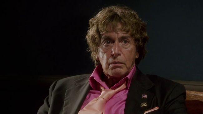 Al Pacino as Phil Spector.