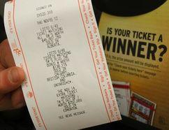 A Lotto 649 ticket in Calgary. (DARREN MAKOWICHUK/Postmedia Network FILE PHOTO)